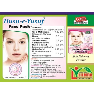 Husn E Yusuf Face Pack